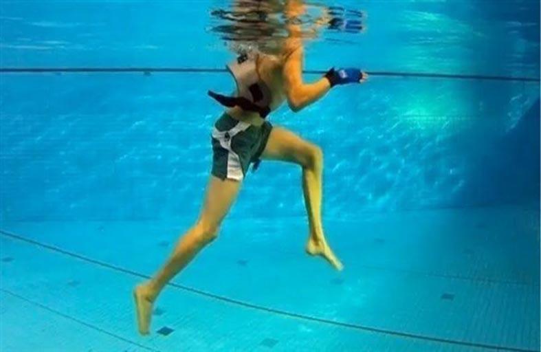 الركض في الماء.. فوائد صحية جمّة