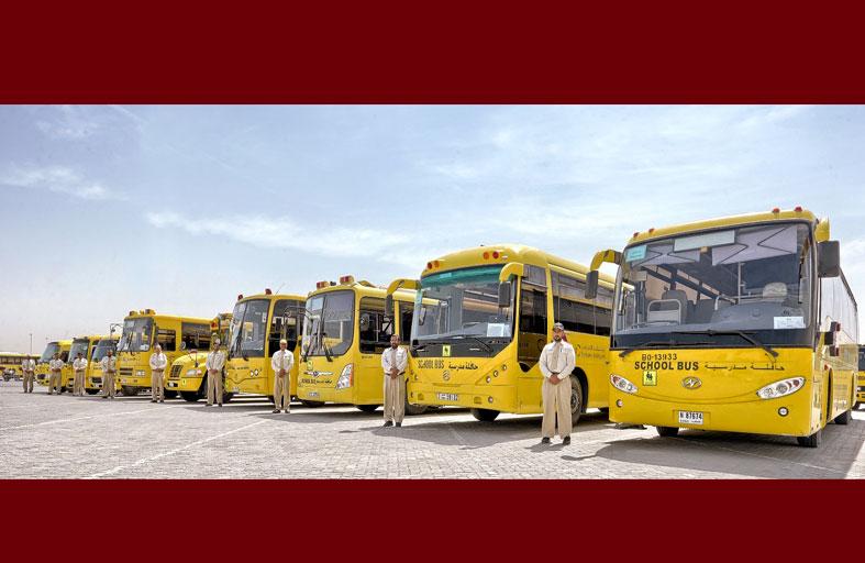مواصلات الإمارات تصدر تعميماً بشأن حركة الحافلات المدرسية عند اضطراب الأحوال الجوية