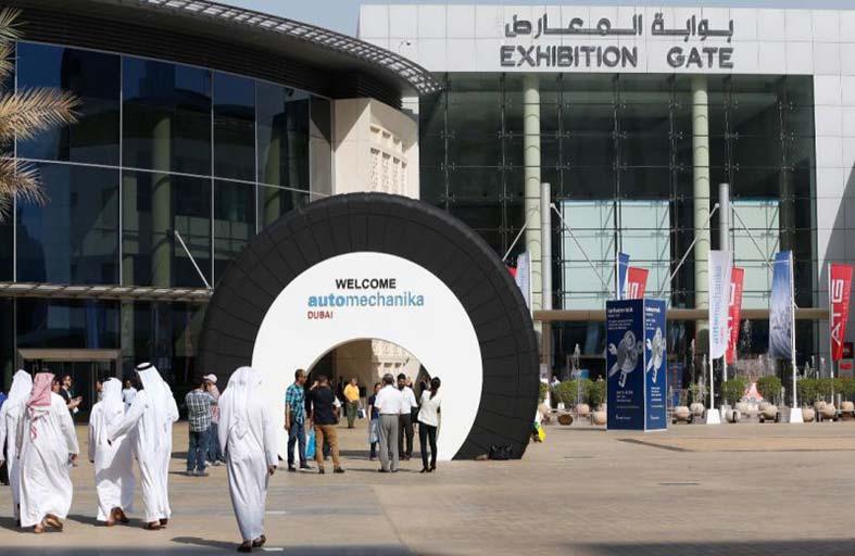 الدورة الـ 16 لمعرض أوتوميكانيكا دبي 2018 تنطلق في مايو