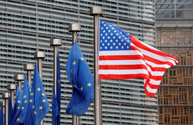 محادثات أوروبية أمريكية حول الرسوم الجمركية