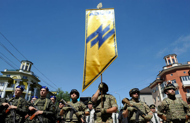 هكذا أصبح الصراع الأوكراني مختبر الإرهاب اليميني المتطرف