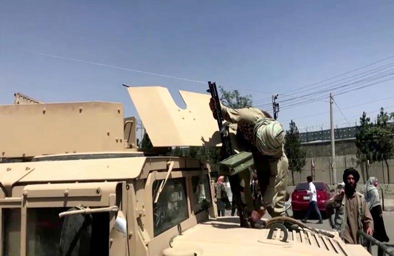 ما حجم الأسلحة التي كسبتها طالبان؟