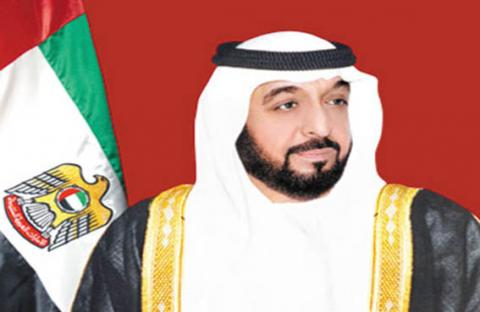 رئيس الدولة يتبادل التهاني بشهر رمضان  مع أمراء الكويت وقطر ومنطقة تبوك