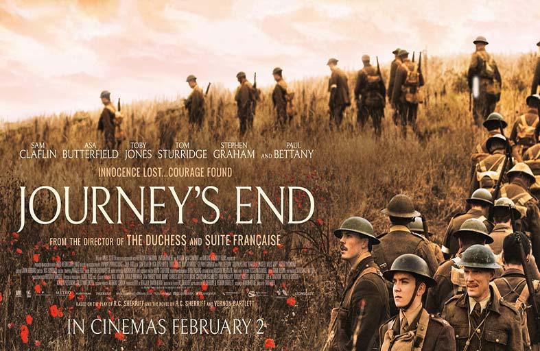 Journey's End... فيلم بريطاني عنيف غني بالمعاني