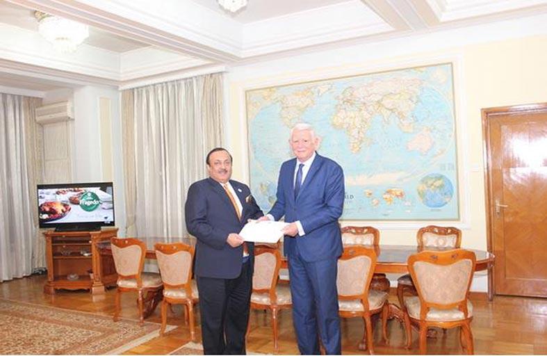 رسالة من عبدالله بن زايد إلى وزير خارجية رومانيا