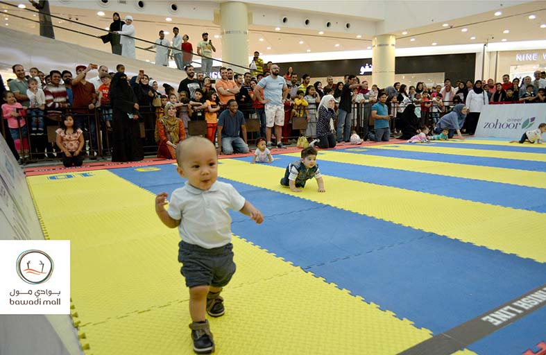 «سباق الأطفال» في بوادي مول يشهد مشاركات مميزة على مدى أربعة أيام