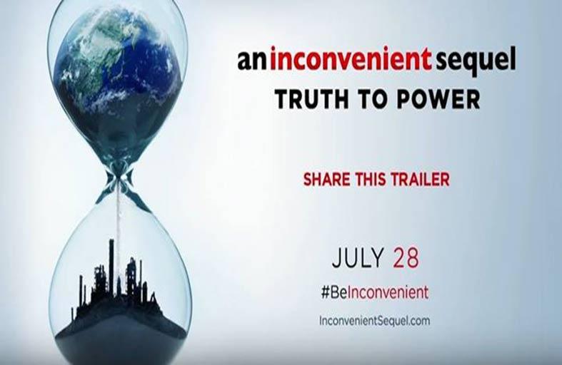 An Inconvenient Sequel يشكل عملاً مفاجئاً، وحيوياً، ومذهلاً، ومثقفاً