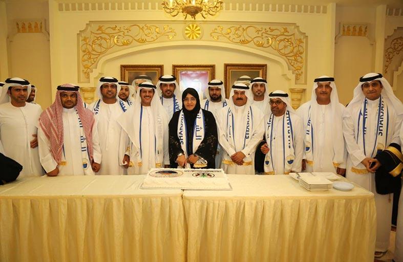 المجلس الاستشاري لإمارة الشارقة يحتفل بفوز نادي الشارقة الرياضي بلقب دوري الخليج العربي
