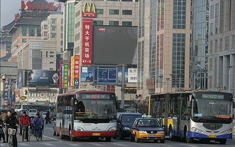 التلوث في بكين يتخطى الحدود الآمنة
