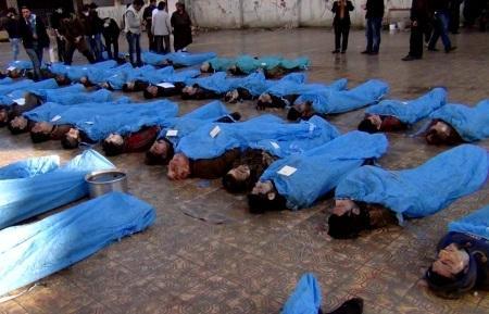 الجيش الحر يتقدم بدير الزور واشتباكات وقصف في عدة مدن