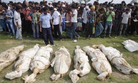 قتلى المبنى المنهار في بنغلادش تتجاوز الـ400