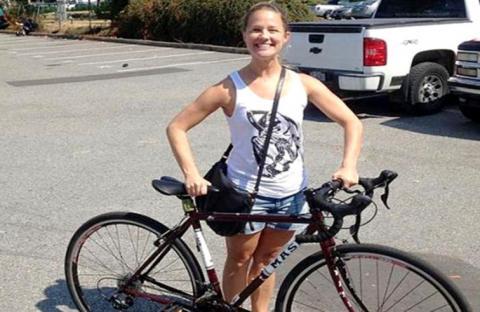 تسرق دراجتها المسروقة