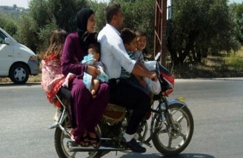 دراجة نارية  لـ 6 ركاب