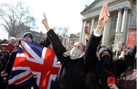 جماعات متطرفة بريطانية تخطط لمظاهرات