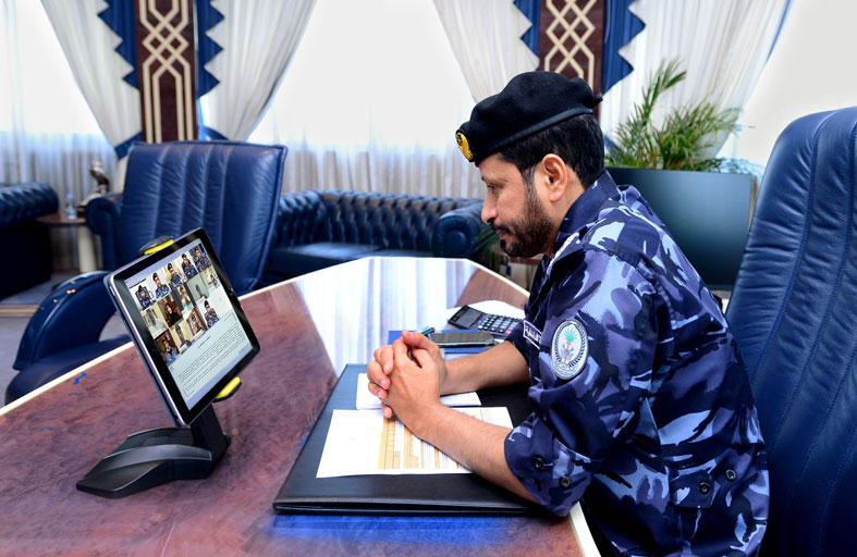 اللواء الشامسي يترأس الاجتماع السادس للجنة العليا الدائمة للقيادة العامة لشرطة الشارقة
