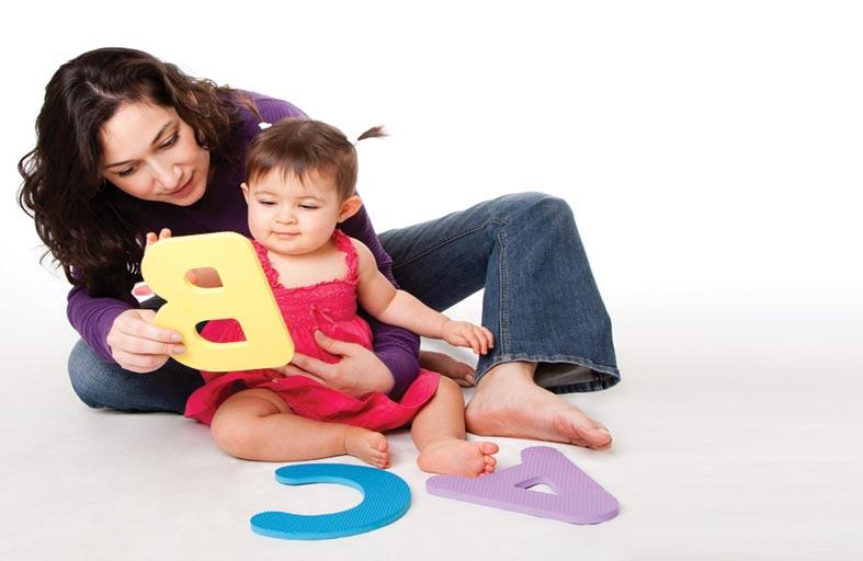برنامج يومي للطفل ما بين عمر سنة وسنة ونصف