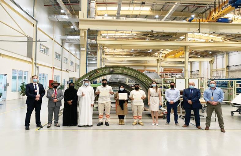 لوفتهانزا الألمانية تدرب طلبة هندسة بوليتكنك أبوظبي على أحدث تقنيات وحلول صيانة الطائرات
