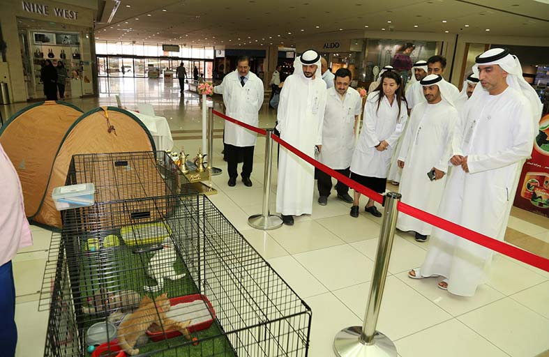 بلدية مدينة العين تستعرض عددا من سلالات وفصائل الحيوانات الأليفة وحيوانات الزينة في المعرض  السنوي الرابع  للحيوانات الأليفة