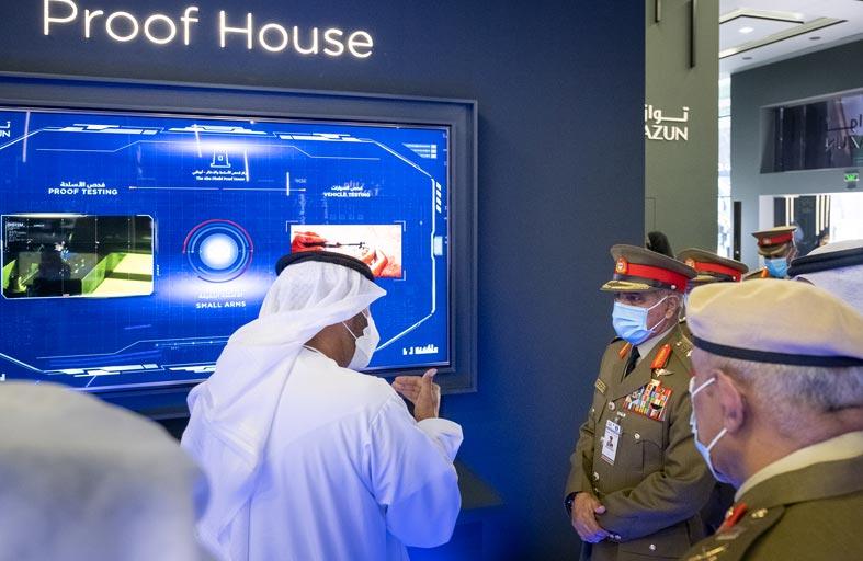 مركز فحص الأسلحة في أبوظبي يرفع قدراته الفنية إلى المستوى الرابع
