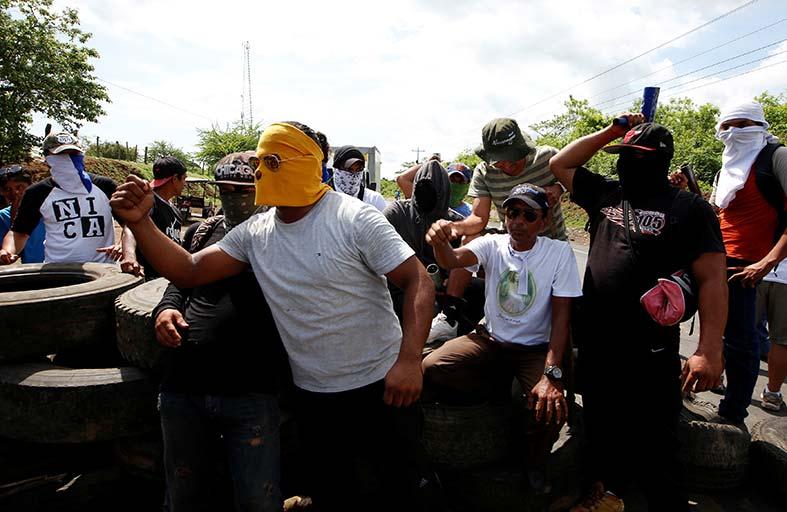 الحوار متوقف في نيكاراغوا بعد 78 قتيلا