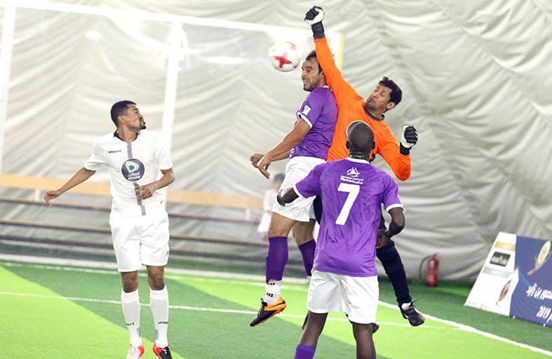 ختام  تمهيدي لمباريات المجموعة الأولى لبطولة منصور بن زايد لكرة القدم