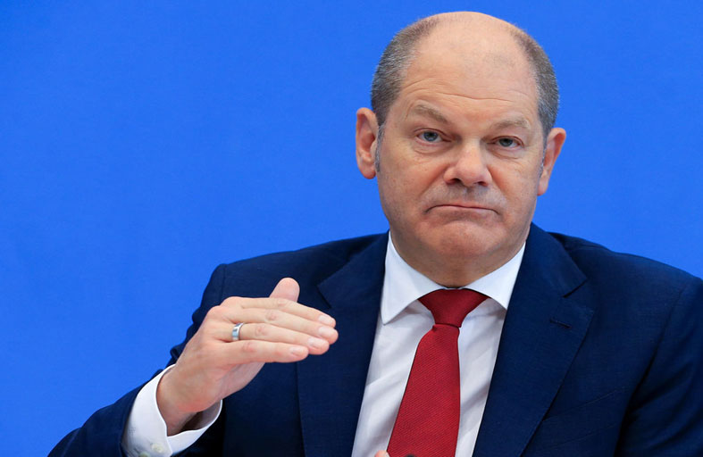 شولتز مرشح الحزب الاشتراكي الألماني للمستشارية