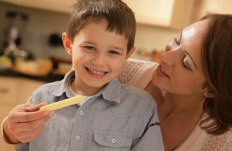 أطفال بريطانيا يعتقدون أن الجبنة منتج نباتي