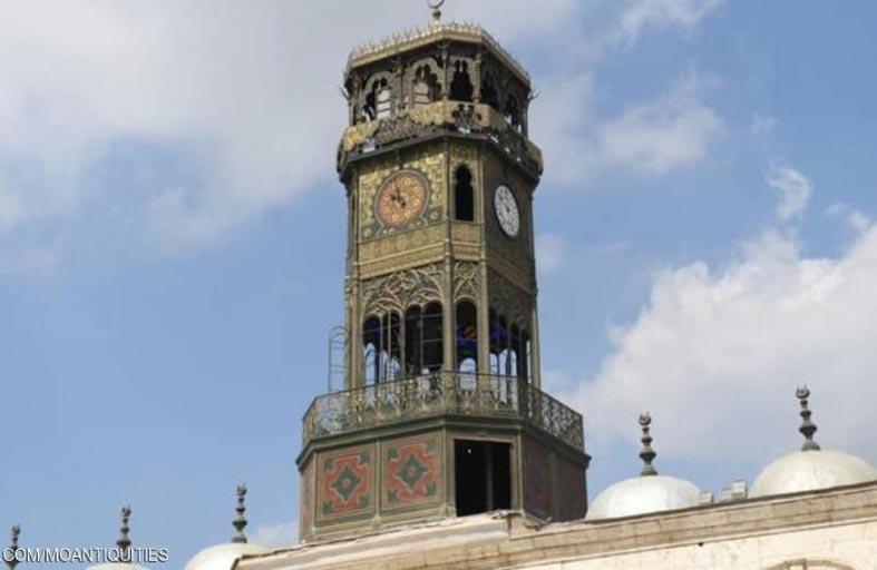 إعادة البريق إلى أول ساعة دقاقة في مصر