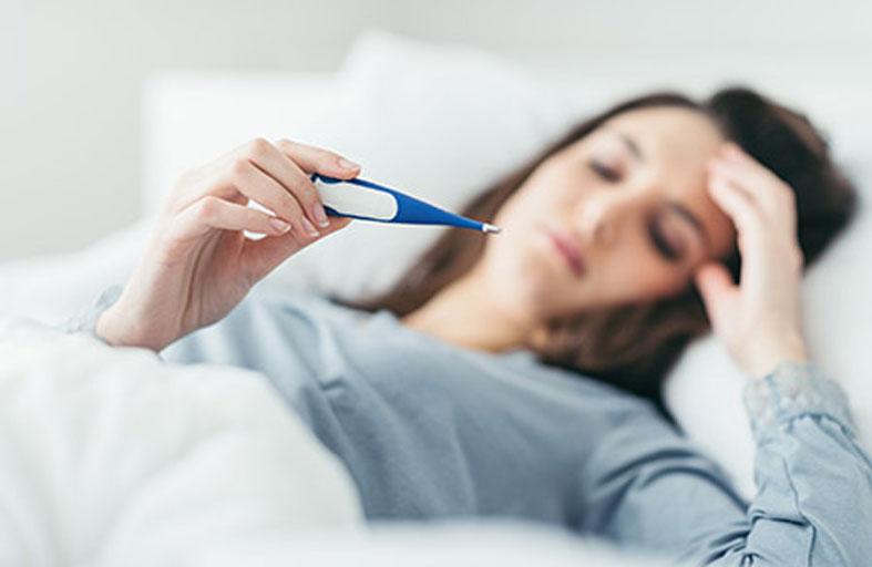 ارتفاع درجة حرارة الحامل - الاسباب وطرق العلاج