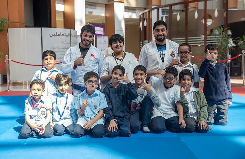 اتحاد الإمارات للجوجيتسو يستكمل أنشطته المجتمعية في أبوظبي
