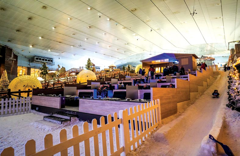 أمامك فرصة لتجربة سينما  الثلج من فوكس سينما في سكي دبي