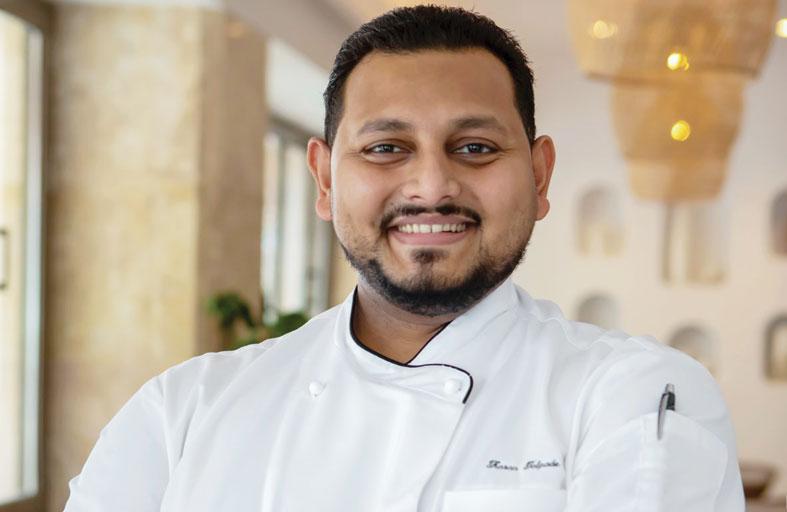 عجمان سراي، أحد منتجعات لكشري كولكشن، يعلن تعيين الشيف كاران تالبيد  مساعدا تنفيذيا لرئيس الطهاة