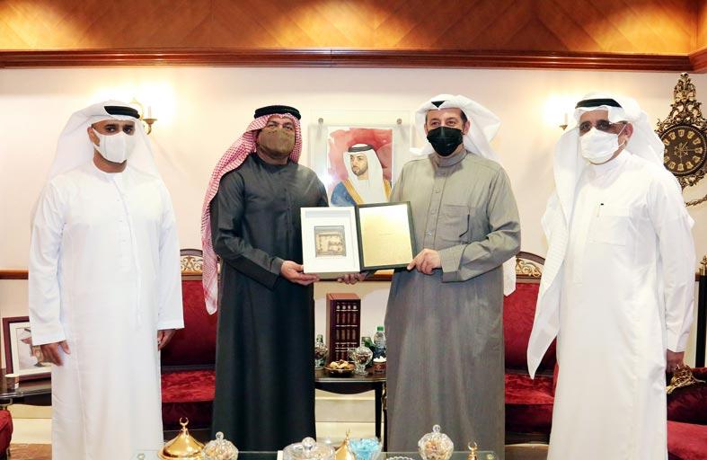 الأرشيف الوطني يستقبل السفير السعودي لدى الدولة