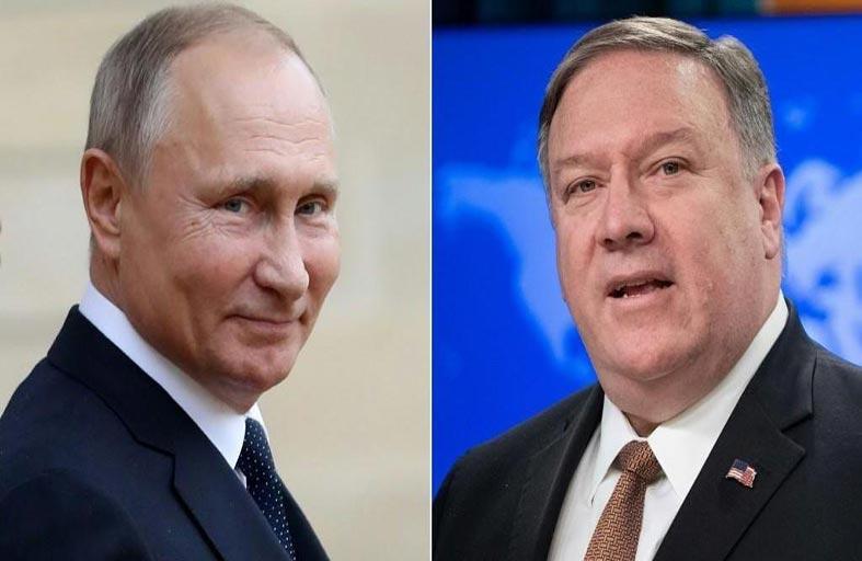 بوتين يستقبل بومبيو سعيا لتبديد التوتر في العلاقات