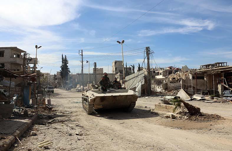 سيناريوهات المخارج المحتملة للمقاتلين والمدنيين في الغوطة