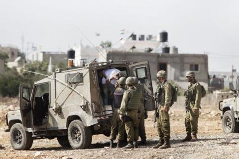 الاحتلال يعلن اعتقال خلية عسكرية لفتح