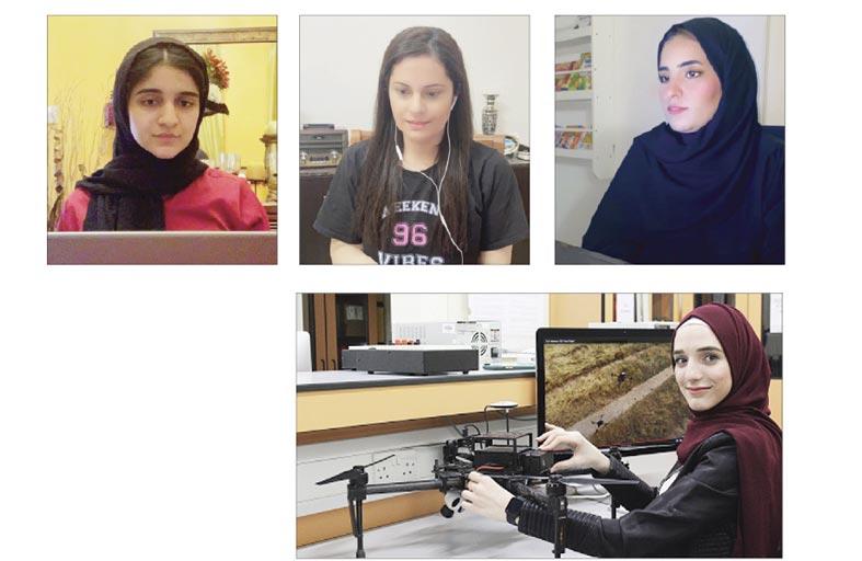 طلبة جامعة أبوظبي يستعرضون مشروعات بحثية مبتكرة في المؤتمر الدولي السابع للمرأة العربية في الحوسبة