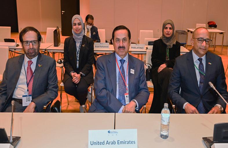 صقر غباش يؤكد أهمية دور المجتمع الدولي في مكافحة الإرهاب والتطرف من خلال معالجة أسبابه وتجفيف منابعه