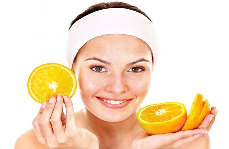 قناع قشر البرتقال لبشرة أكثر جمالاً