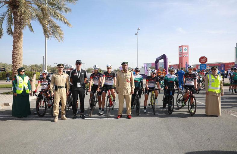 شرطة دبي تؤمن طواف دبي النسائي 2020