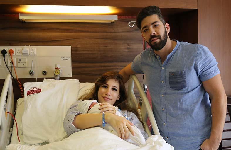 مستشفى برجيل أبوظبي يستقبل أول مولود في عيد الفطر