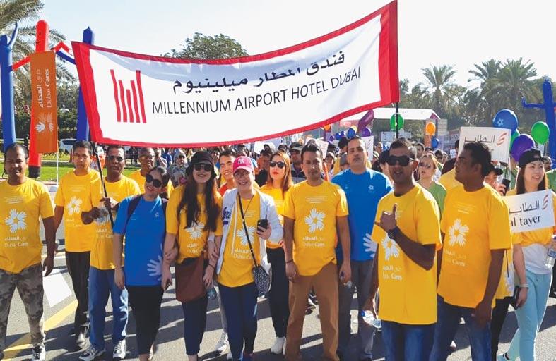فندق ميلينيوم المطار دبي يدعم مسيرة دبي العطاء من أجل التعليم
