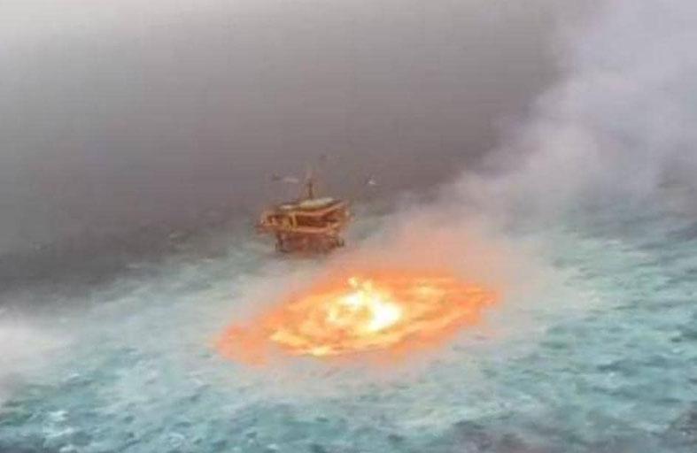 لقطة مذهلة.. عين النار في قلب المحيط