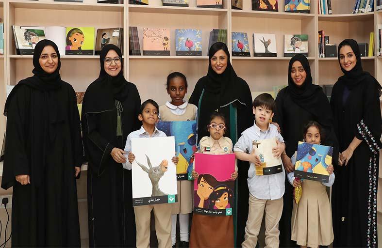 «كلمات لتمكين الأطفال» تدعم مكتبة «الشارقة للخدمات الإنسانية» بـ600 كتاب للمكفوفين وضعاف البصر
