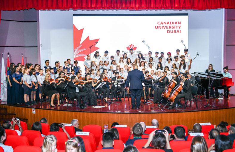 أول فرقة موسيقية في الإمارات من أصحاب الهمم تتألق مُجددًا في الحفل الموسيقي السنوي