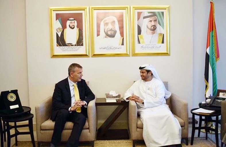 سفير الدولة يلتقي الممثل المقيم للأمم المتحدة في لبنان
