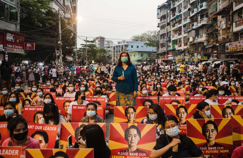 بورما تعتزم إطلاق 5000 متظاهر اعتقلوا منذ الانقلاب