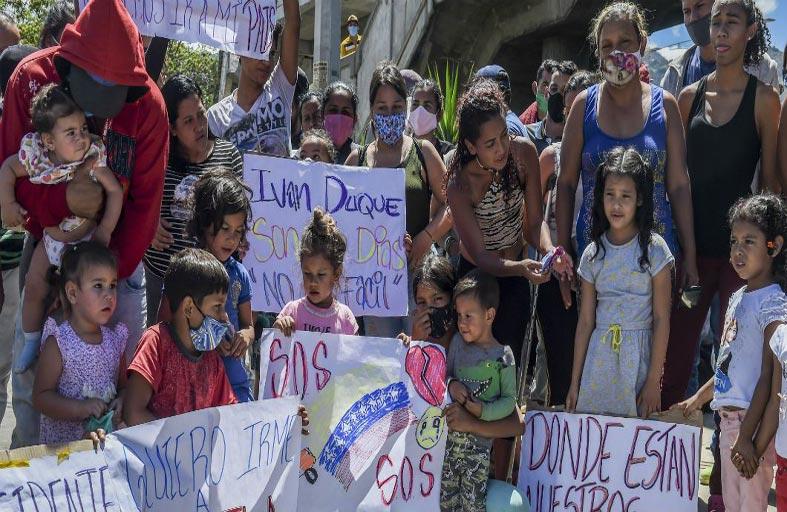 فنزويلا: كوفيد-19 يدق جرس العودة إلى البلاد...!