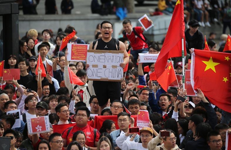 محتجو هونغ كونغ ينظمون تظاهرات جديدة