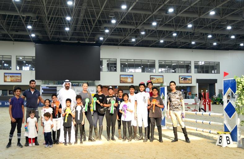 155 فارسا يشاركون في البطولة التدريبية السادسة بنادي الشارقة